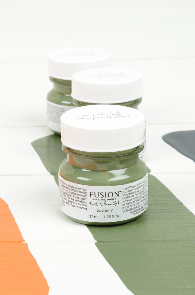 Bayberry tester fusion mineral paint